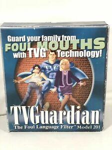 TV Guardian The Foul Language Filter Model 201