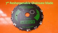 "Brush Tree Brushcutter 7"" blade chainsaw husqvarna stihl shindaiwa redmax echo"