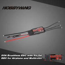 Hobbywing  SKYWALKER 80A 2~6S Brushless Regler mit 5V/5A BEC für RC Flugzeug