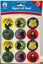 CARSON-DELLOSA Agent of God Stickers-  Pack OF 72 STICKERS - NEW
