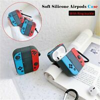 Mini Earphone Silicone Cover Protective Case Skin for NS Switch Apple Airpods1/2