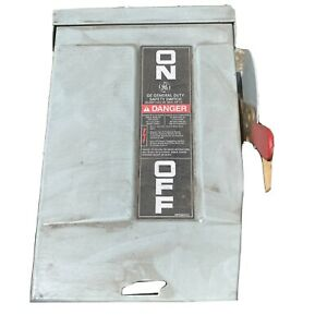 GE SAFETY SWITCH  TGN3321R