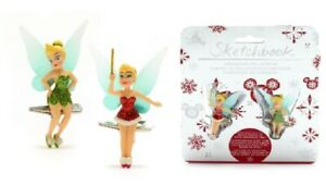 Disney Store Tinker Bell x 2 Clip-On Ornaments Peter Pan figurine decoration