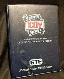 Super Bowl XXIV 1990 Pro Set GTE Collector Edition Football Cards Broncos 49ers
