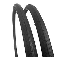 2x Positz Performance Road Bike Tyres - 700c x 25mm (Pair)- Racer Racing Bicycle
