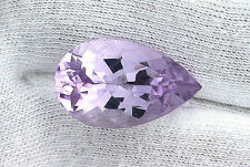 16.10 Ct Natural Pear Rose De France Amethyst Gemstone Gem Stone Natural B20A2