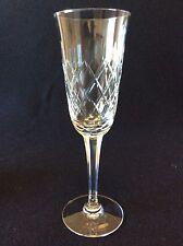 Cristal de Lemberg H 19,1 cm Lorraine Flûte à champagne taillé XX ème C 1930