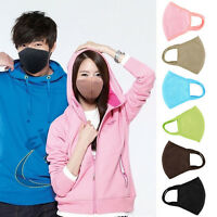 Fashion Unisex Health Cycling Anti-Dust Cotton Mouth Face Masks Respirators GS