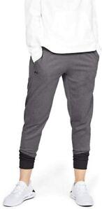 Under Armour Women's Fleece Pants 1317895 Grey size XL