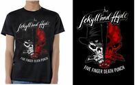 FIVE FINGER DEATH PUNCH - Jekyll and Hyde - T SHIRT S-M-L-XL-2XL New Official