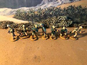 Caesar World war 2 German Afrika korps set 3 1:72 painted