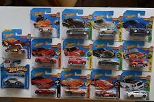 Hot Wheels Showdown Mclaren P1 Austin Mini Furgone BMW M4 Cadillac Dodge Porsche