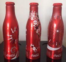 Coca Cola Aluminum Bottle Milano Expo 2015 Full Set Italy
