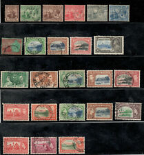 Trinidad and Tobago Lot of 24 Issues from 1921-1953