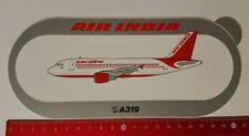 Aufkleber/Sticker: Airbus A319 / Air India (1104173)