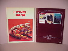 Lionel Trains Store Catalogs 1979 & 1980 Railroad 0 027 scale old stock   Lot #B