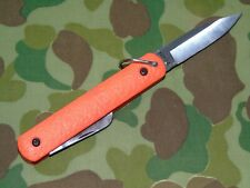 COLONIAL M724 MILITARY ISSUE PARATROOPER-PILOT RESCUE SURVIVAL KNIFE HOOK BLADE