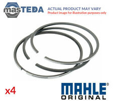 4x MAHLE ORIGINAL ENGINE PISTON RING SET 081 RS 00104 0N0 I NEW OE REPLACEMENT