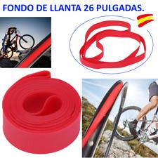 FONDO DE LLANTA 26 PULGADAS EN COLOR ROJO 15 MM ANCHO