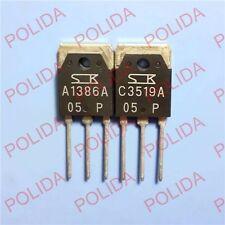 1pair OR 2PCS Transistor SANKEN TO-3P 2SA1386A/2SC3519A A1386A/C3519A