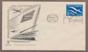 Argentina Airmail # C70 , Bird With Letters FDC - I Combine S/H