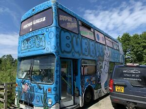 Double Decker Soft Play Area Bus With Slide - Potential Business - Spares Repair