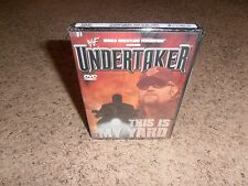 UNDERTAKER THIS IS MY YARD wwf BRAND NEW dvd wrestling SHIP WORLDWIDE