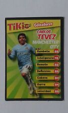 2010 CARLOS TEVEZ Manchester City - ARGENTINA Trading Card