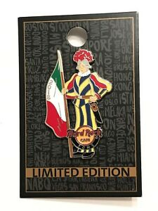 Hard Rock Cafe Rome 2018 Swiss Guard of Vatican Pin /300 LIMITED EDITION