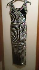 Vintage sequined evening/pageant gown