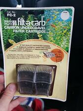 Penn Plax FC2 Filt-A-Carb for Multi-Pore and Under Gravel E Filter (2 Pack) 2pk