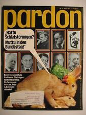 PARDON 1977 NR. 4 APRIL - PARODIE - SATIRE