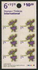 Canada 2364a Booklet BK421 MNH Flowers, Grass Pink