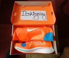 Nike X Off White Zoom Fly Mercurial Flyknit naranja-tamaño 11