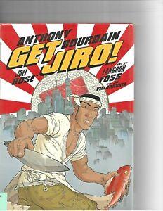 Get Jiro Hardcover Graphic Novel  by Anthony Bourdain Gently Used Vertigo Comics