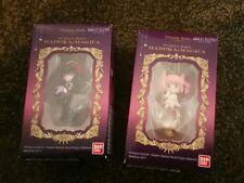 Bandai Twinkle Dolly Madoka Magica Charm Keychain Figure Homura and Madoka SET