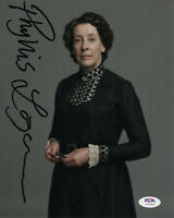 """""""DOWNTON ABBEY"""" : PHYLLIS LOGAN AS 'ELSIE HUGHES' SIGNED OFFICIAL PHOTO PSA"""
