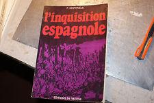 L'INQUISITION ESPAGNOLE 1978 MARTINELLI ILLUSTRE