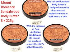 1 X 225g Mount Romance Sandalwood Body Butter