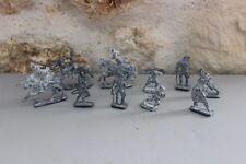 Vintage - Lot de 10 anciens soldats de plombs - Cavaliers - Napoléon ?