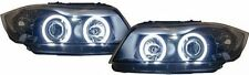 2 FEUX PHARE AVANT ANGEL EYES LED BLANC BMW SERIE 3 E90 E91 PHASE 1