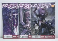 Cataclysm Ultimate Comics Xmen 1 2 3 1-3  Complete Run Lot