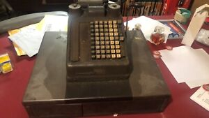 Vintage Burroughs Adding Machine & Register