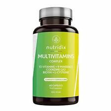 Multivitamine e Minerali - Complesso Multivitaminico Vegano con 29 Nutrienti ...