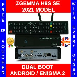 ✅ 2021 GENUINE Zgemma H9S SE 4K Satellite Receiver 1x DVB-S2X - Android Enigma2