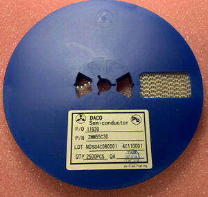 2500Pcs  X ZMM55C30   SMD SOD-80 MiniMELF Zener Diode 30V 5%
