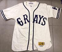 VTG Men's Josh Gibson #20 Homestead Grays Sz XL Ebbets Field Flannels jersey