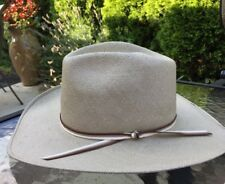 Estate Bailey U-Rollit Size 6-7/8 Men Straw Cowboy Hat Shantung Panama 5 *