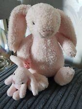 Jellycat Pink Bashful Mucial Lullaby Bunny Rabbit