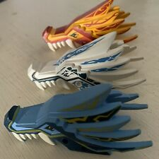 Lego Ninjago Dragon Heads set Of 3 Top Jaws only